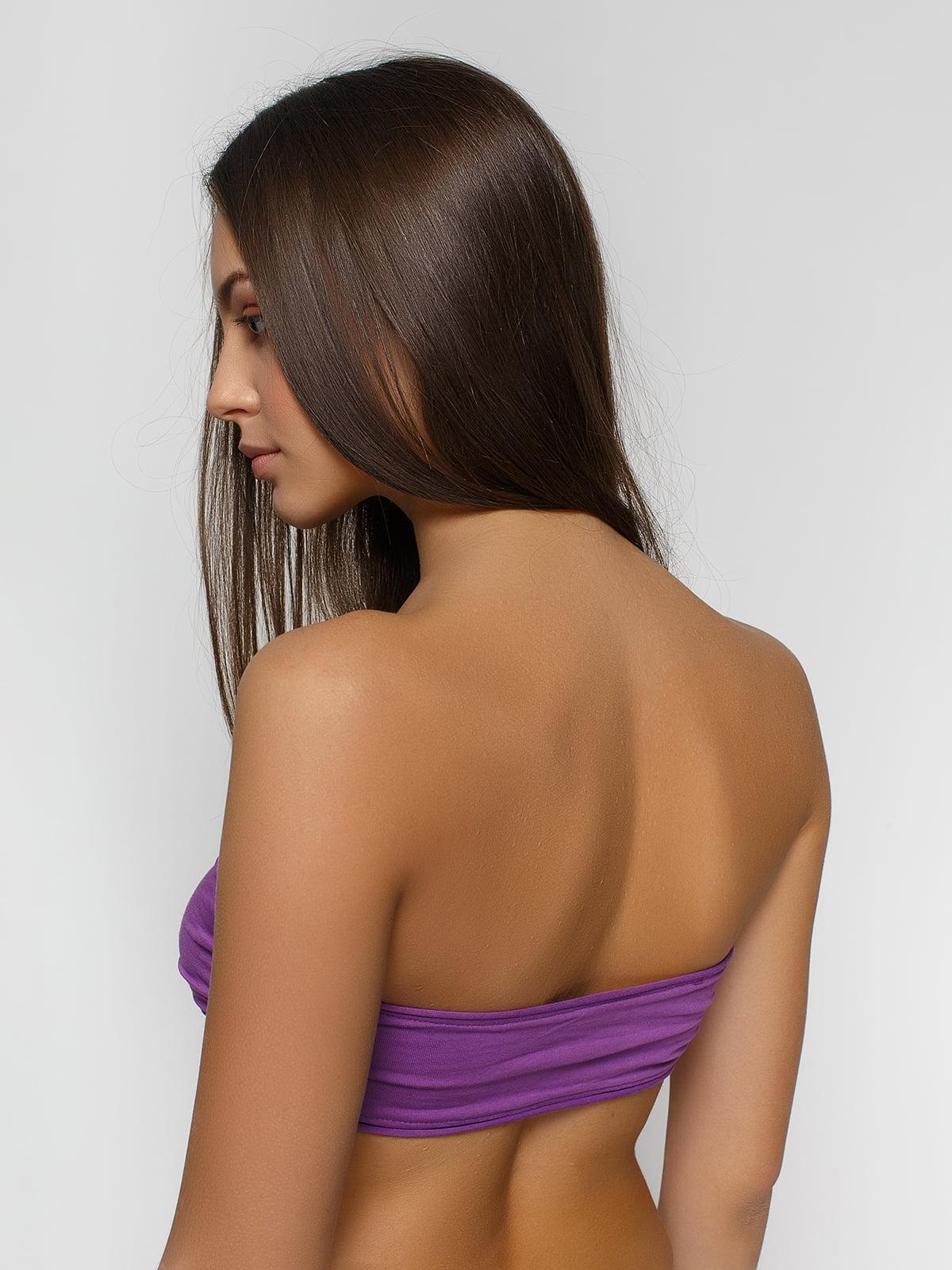 Топ-бандо фіолетовий | 2322548 | фото 2