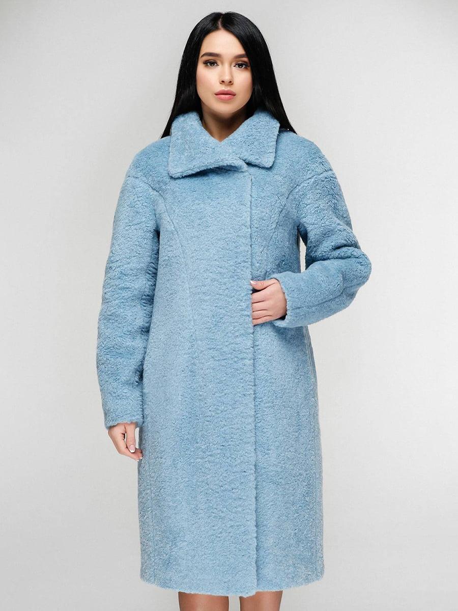Пальто голубое | 4828117 | фото 2