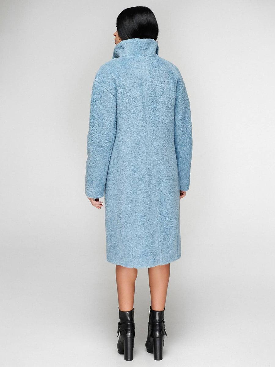 Пальто голубое | 4828117 | фото 3