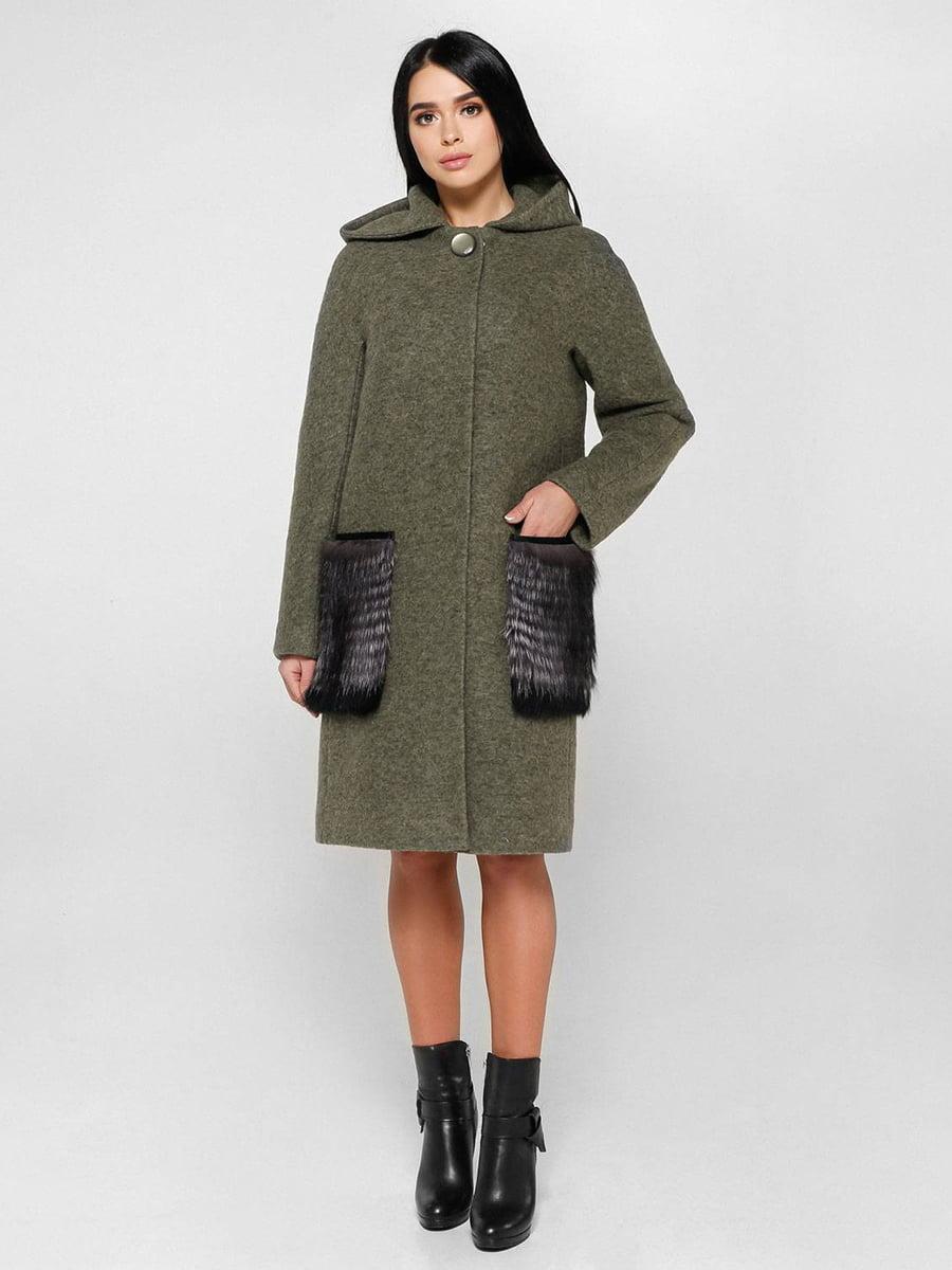 Пальто зелене | 4828121