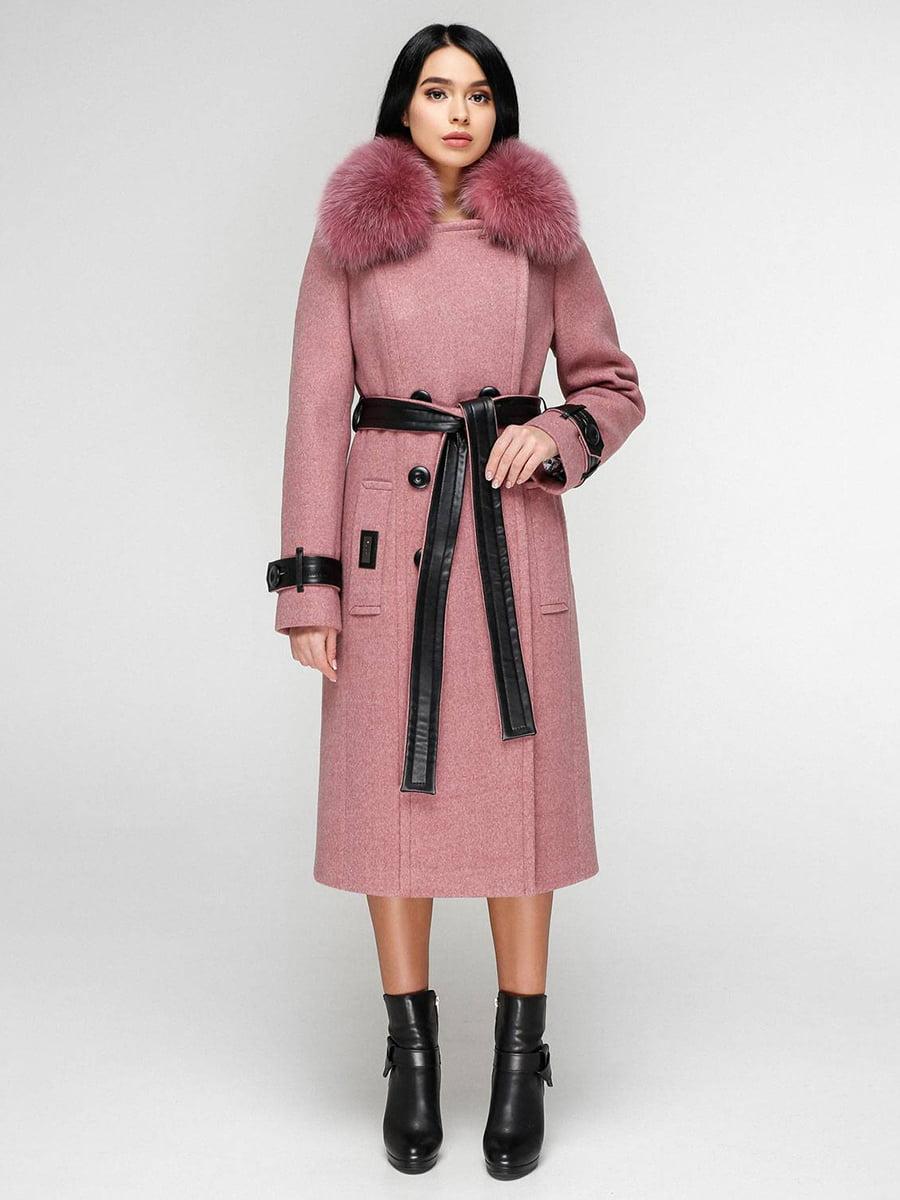 Пальто розовое | 4828124