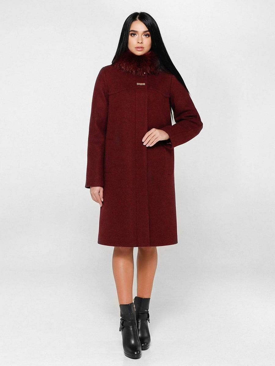 Пальто цегляного кольору | 4828129