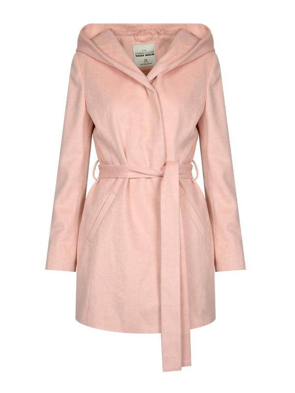 Пальто розовое   4548403