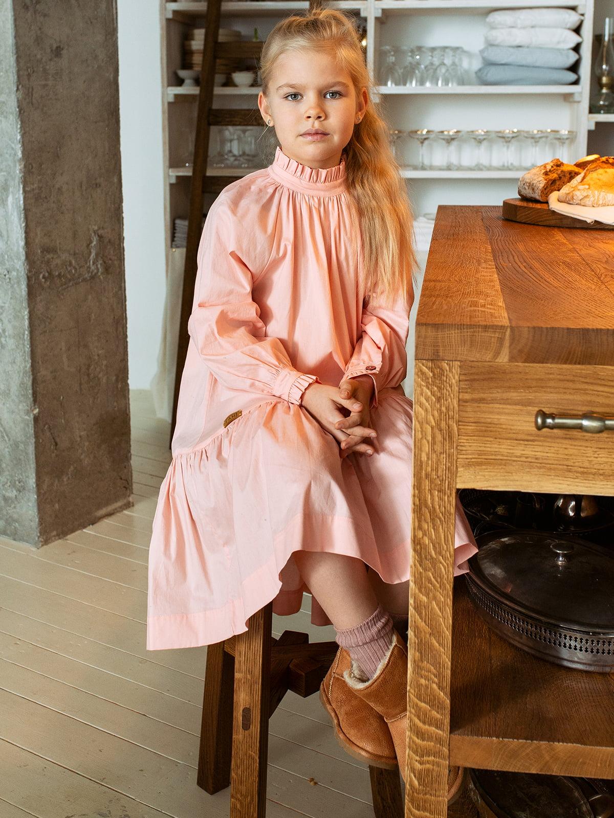 Платье-рубашка розовое | 4840194
