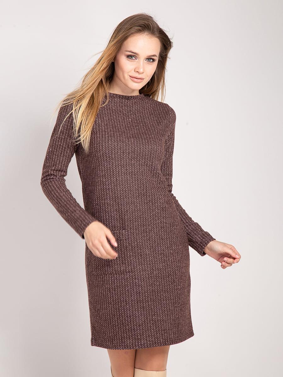 Платье коричневое | 4842292