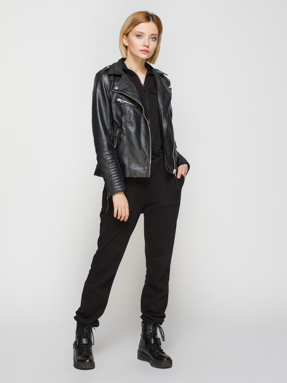 Куртка чорна   4725523   фото 2