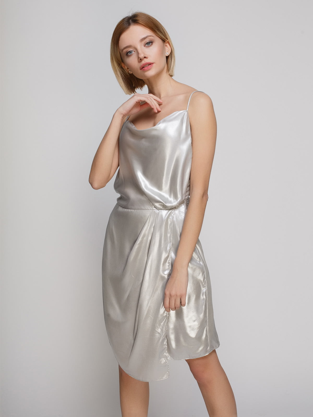 Сукня срібляста | 4544784
