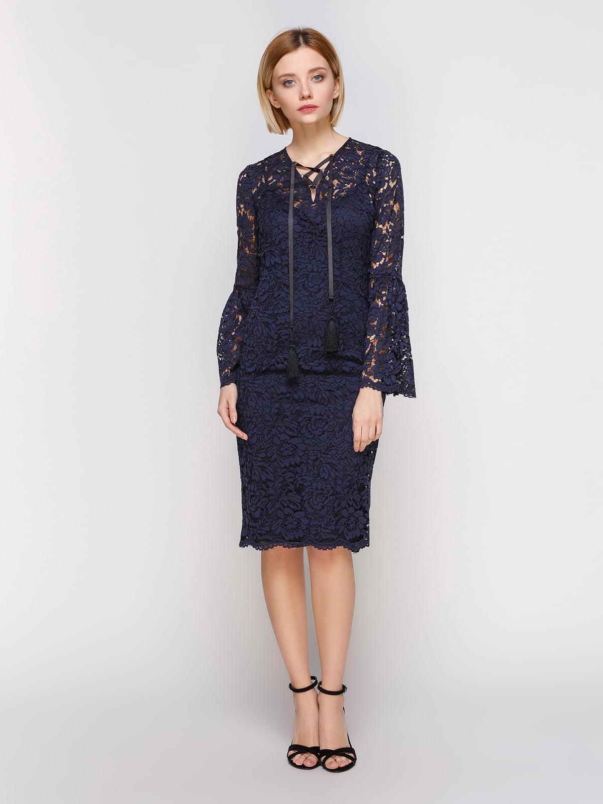 Сукня темно-синя   4810428