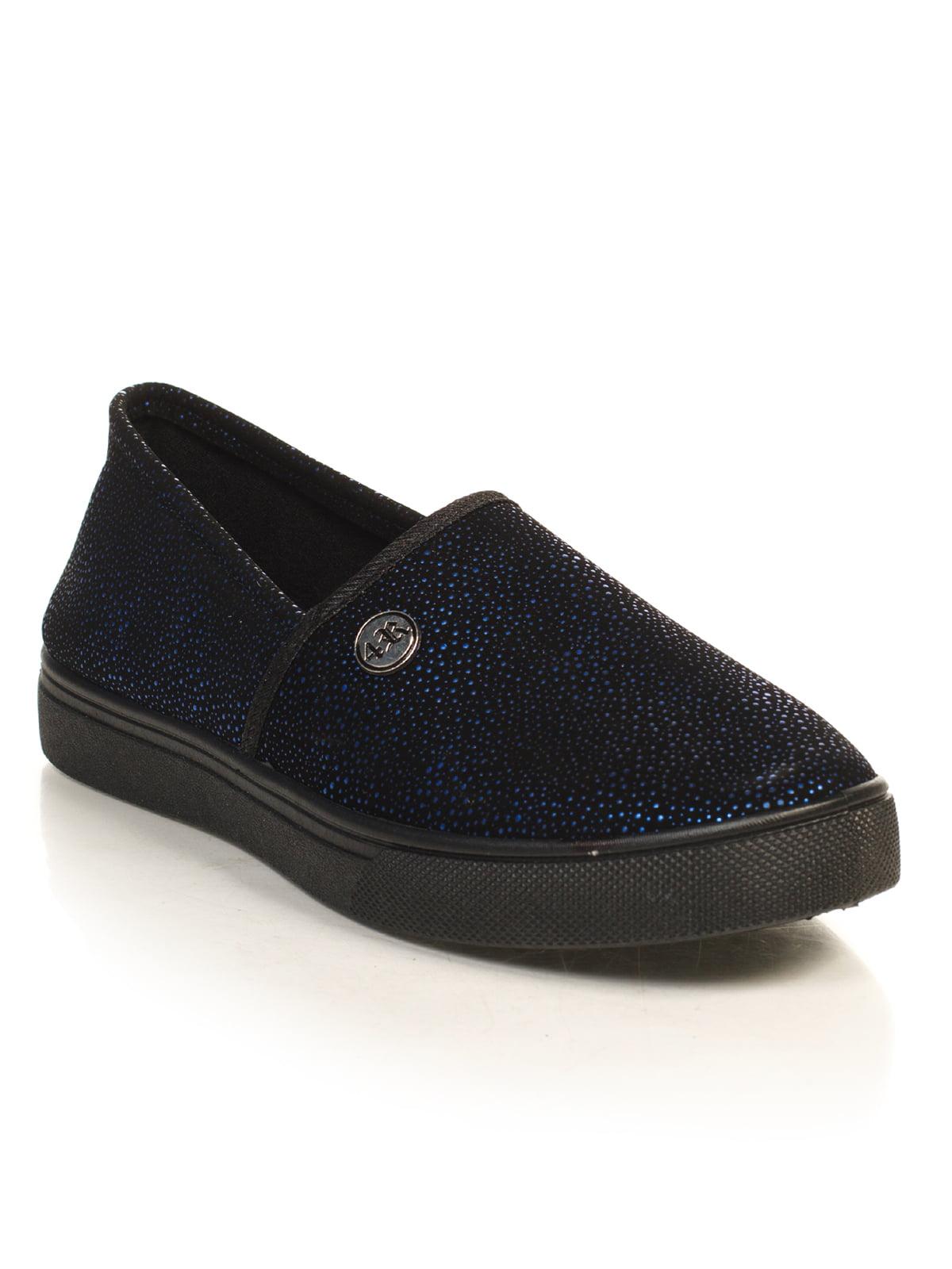 Слипоны синие | 4828845