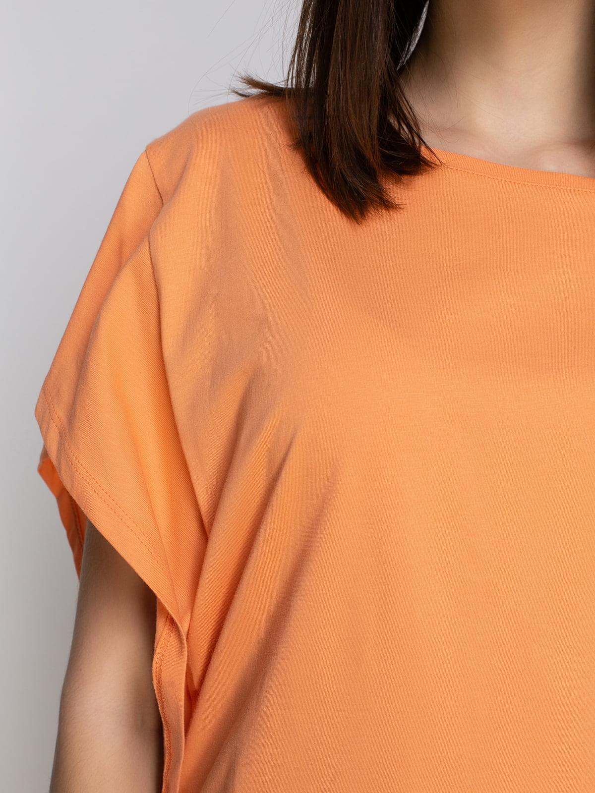 Футболка оранжевая | 4634873 | фото 3
