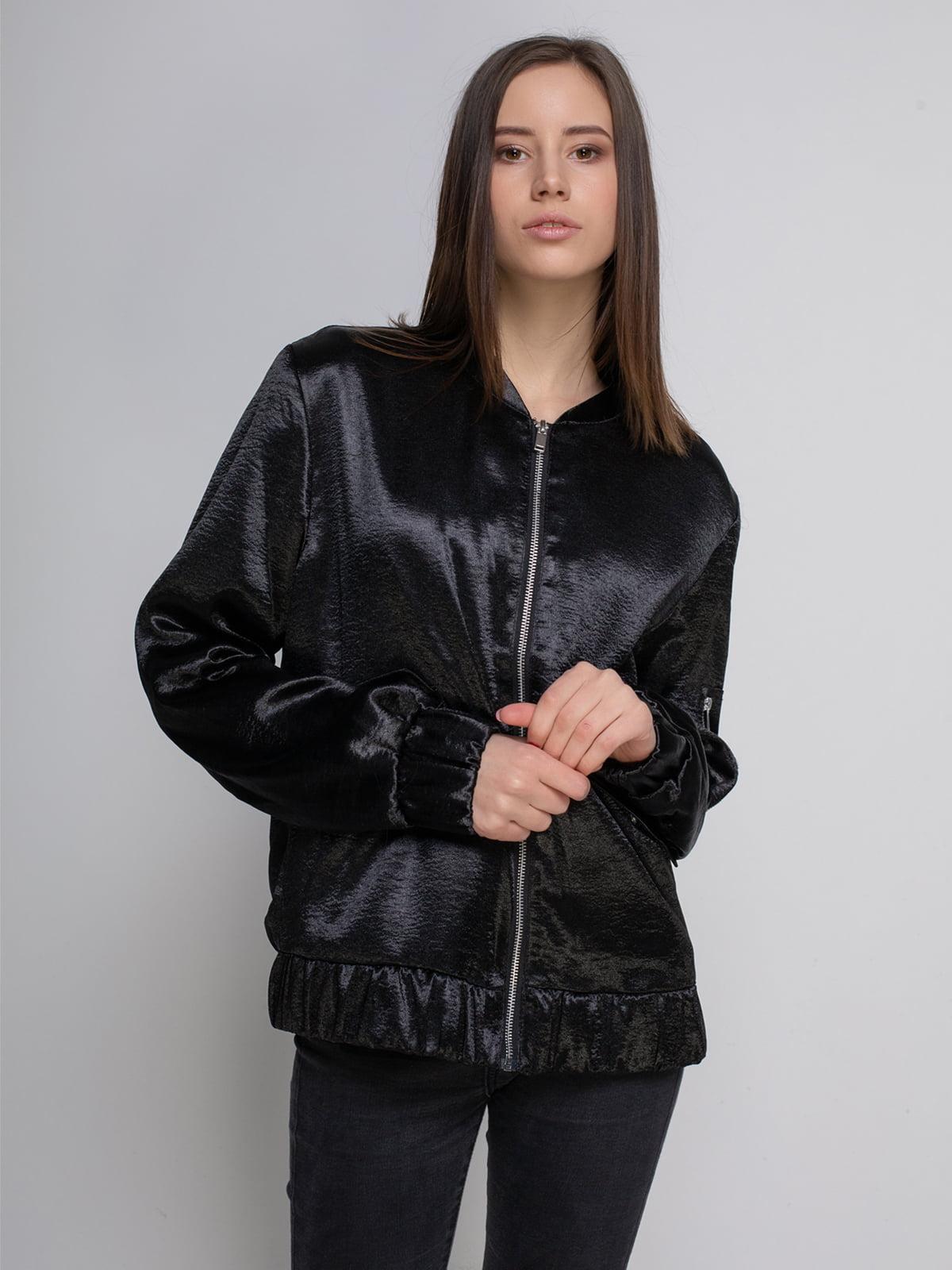 Бомбер чорний   4555945