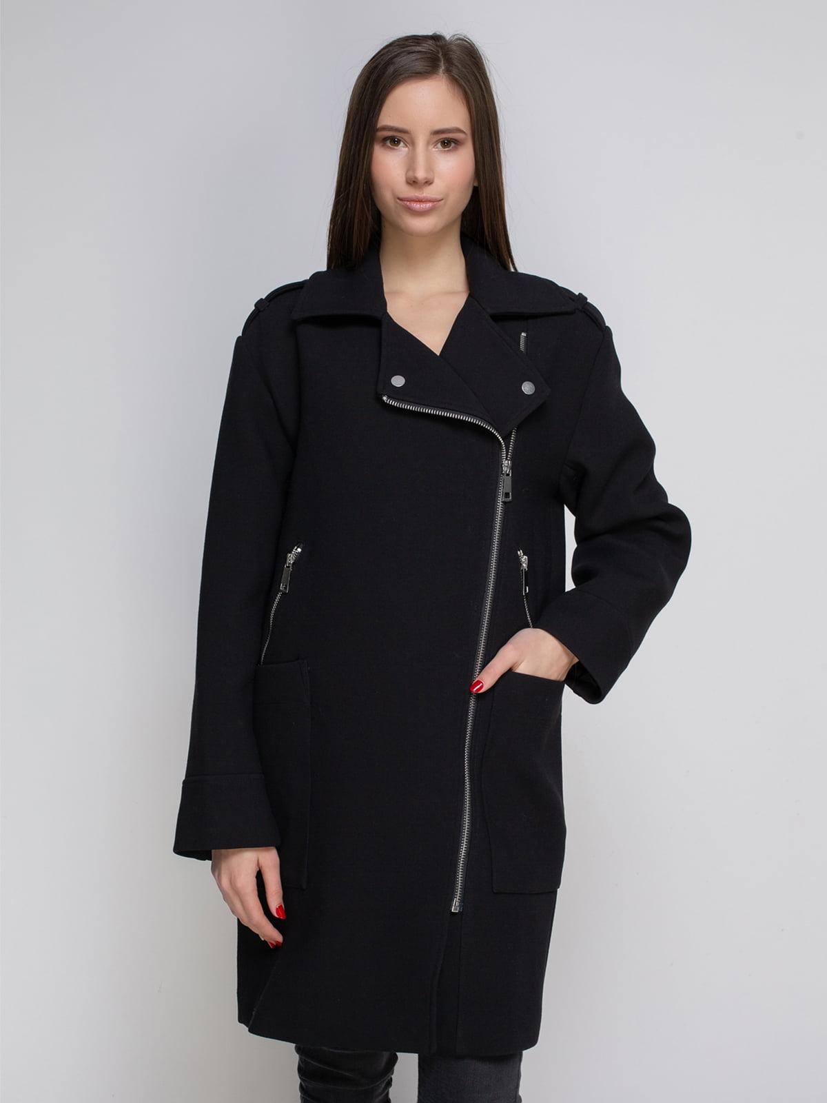 Пальто чорне | 4657814