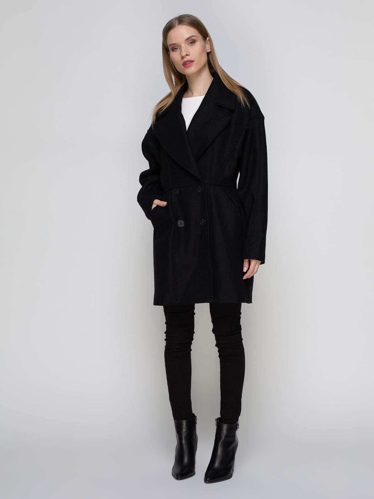 Пальто черное | 3612713 | фото 2
