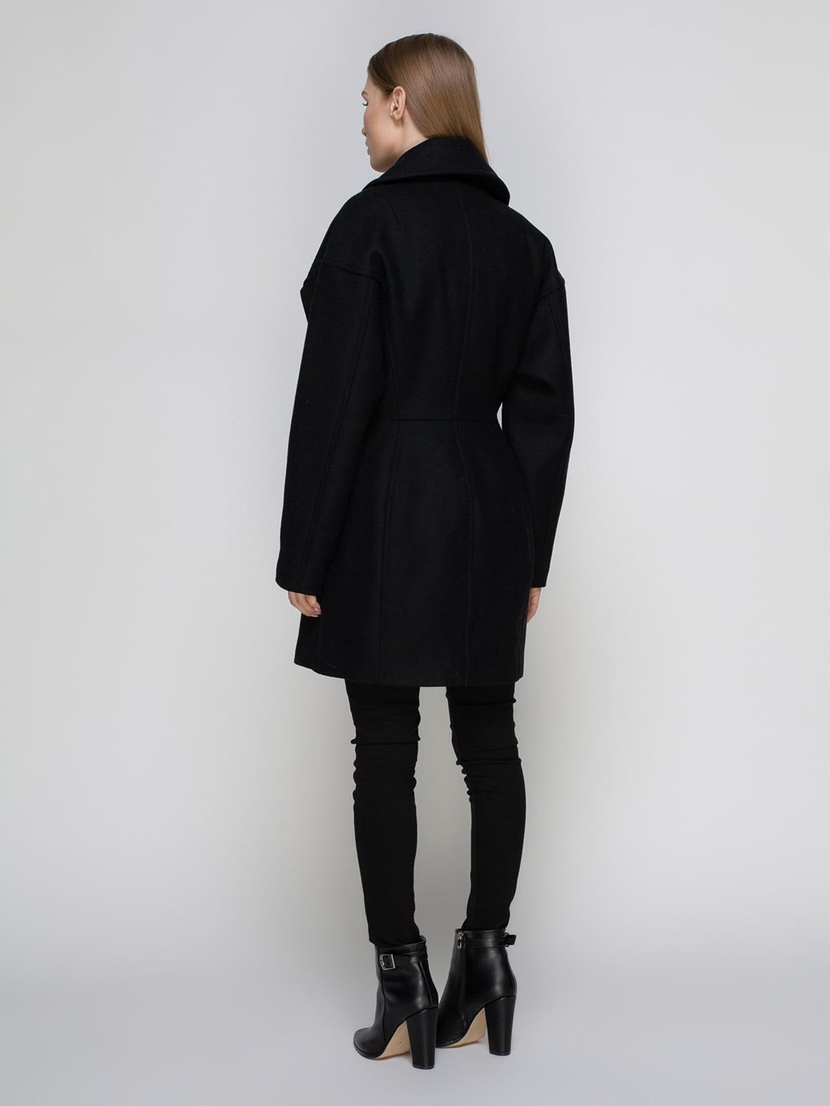 Пальто черное | 3612713 | фото 3
