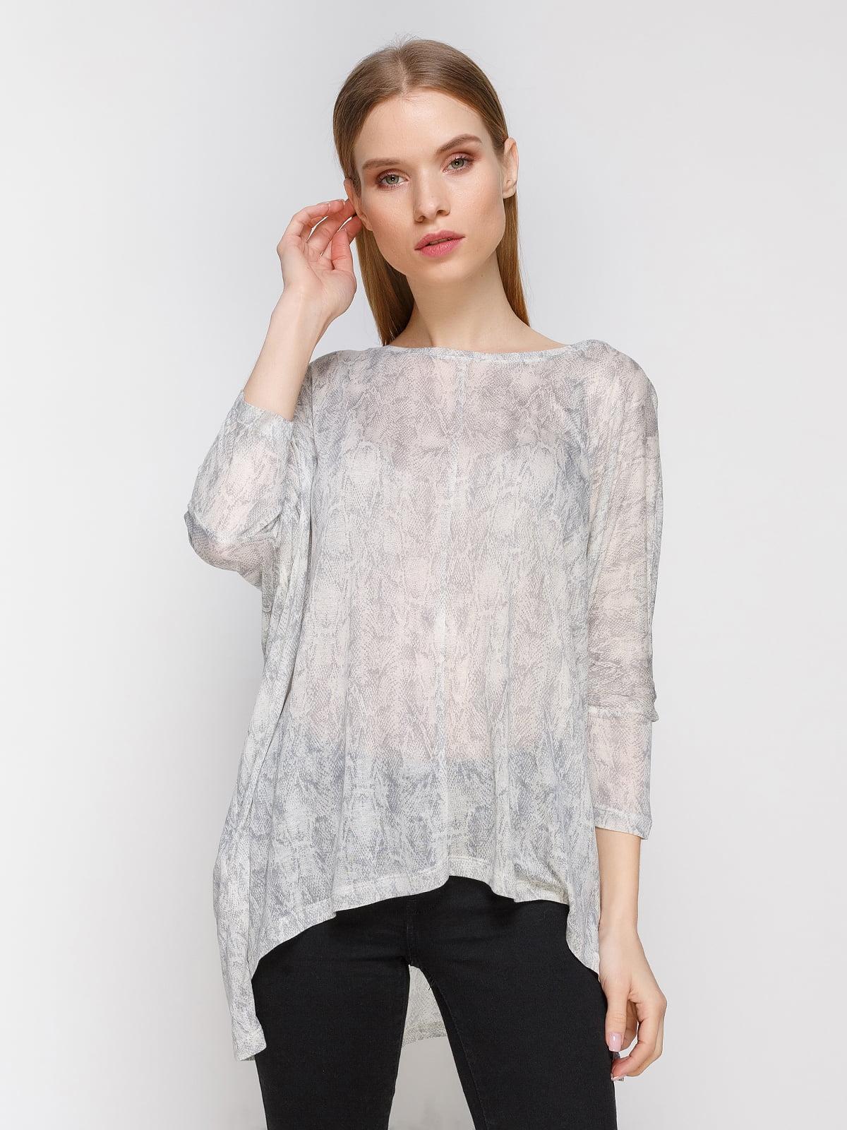 Блуза анімалістичного забарвлення | 2354855