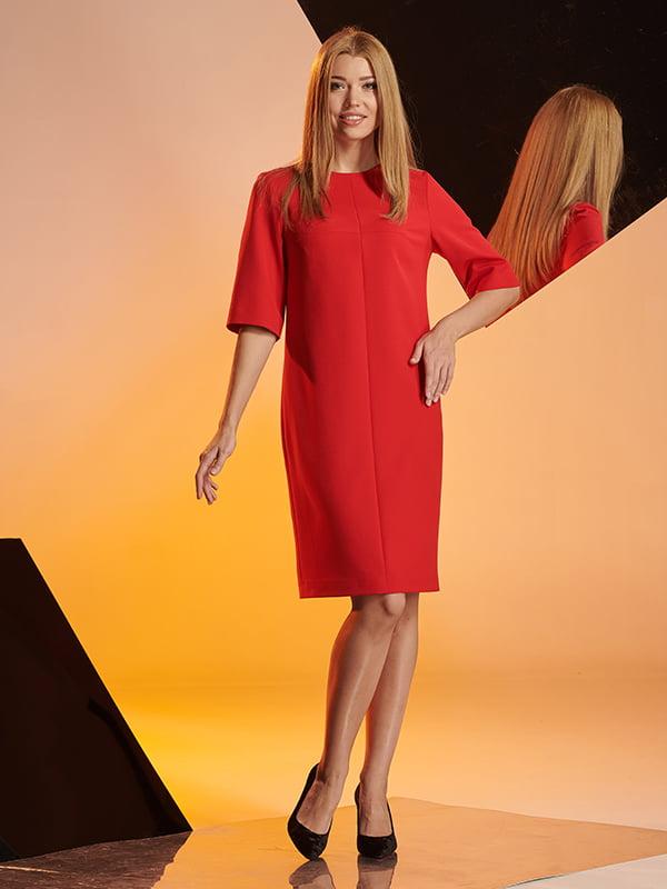 Платье красное | 4836839