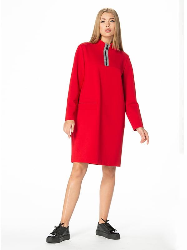 Платье красное | 4836892