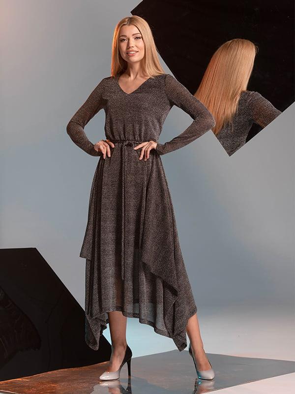 Сукня темно-сіра | 4836919