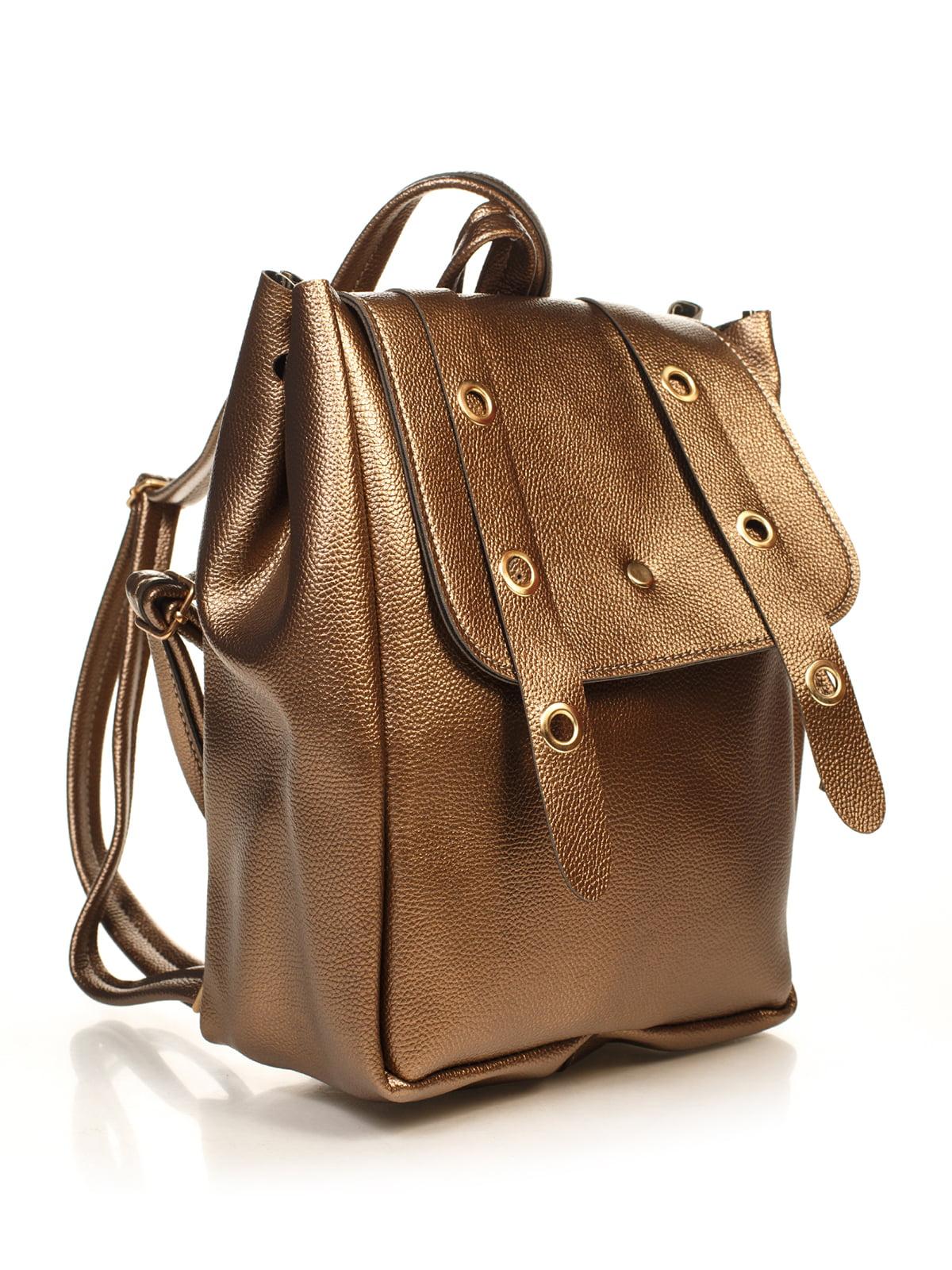 Рюкзак стального цвета | 4840117 | фото 3