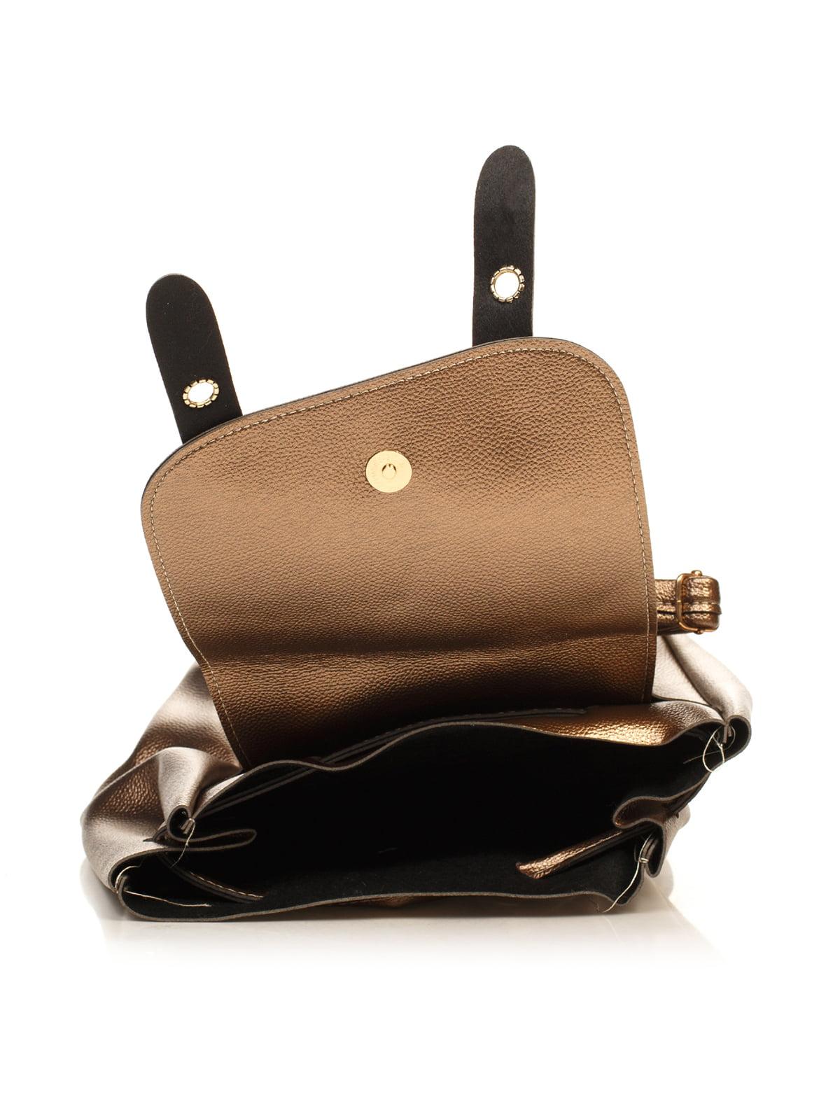 Рюкзак стального цвета | 4840117 | фото 4