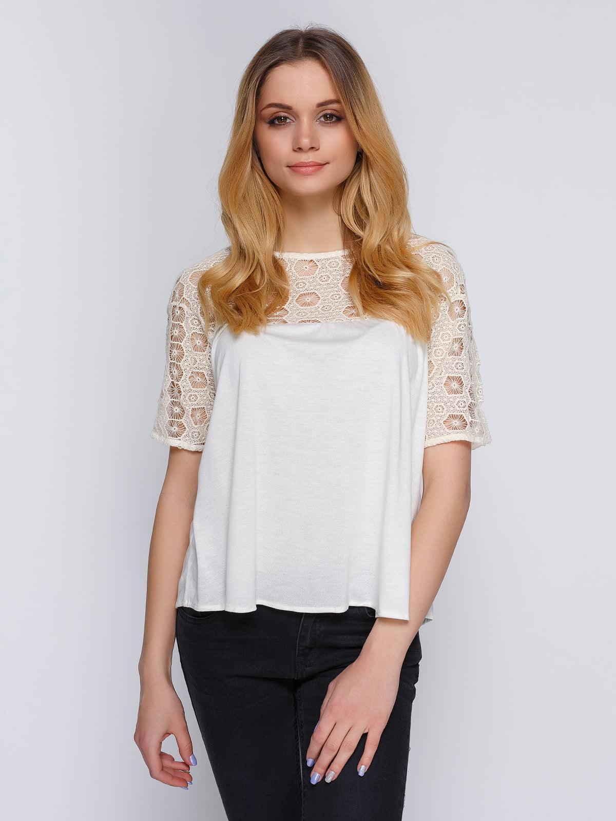Блуза біла | 3776975