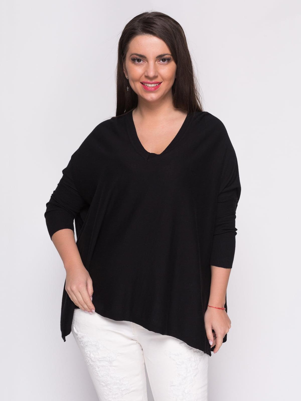 Пуловер чорний | 2772269