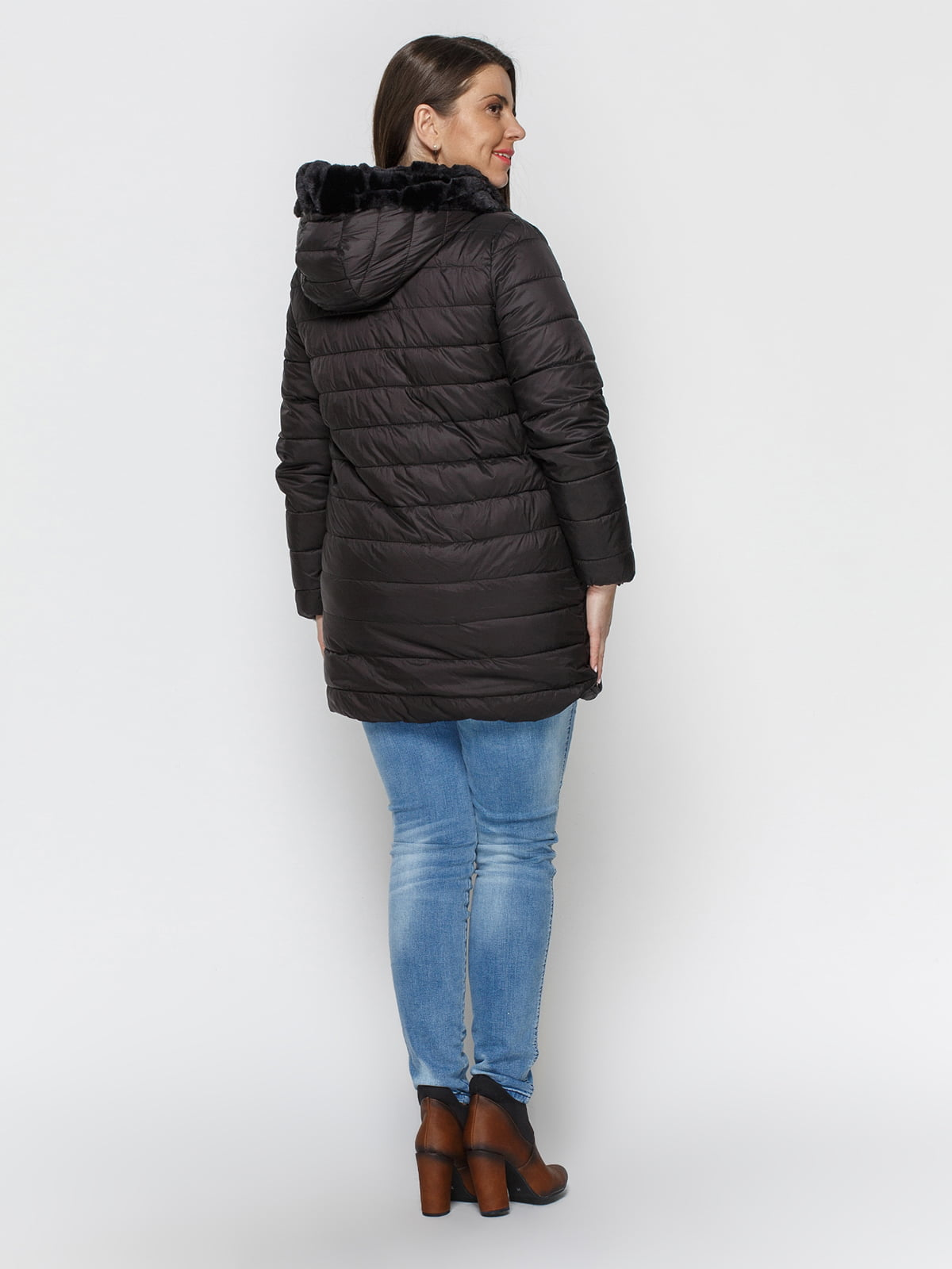 Куртка черная | 4840124 | фото 3