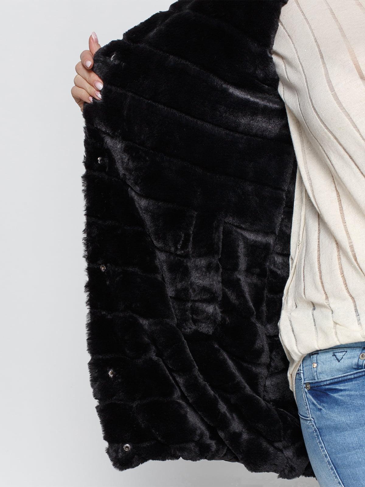 Куртка черная | 4840124 | фото 4