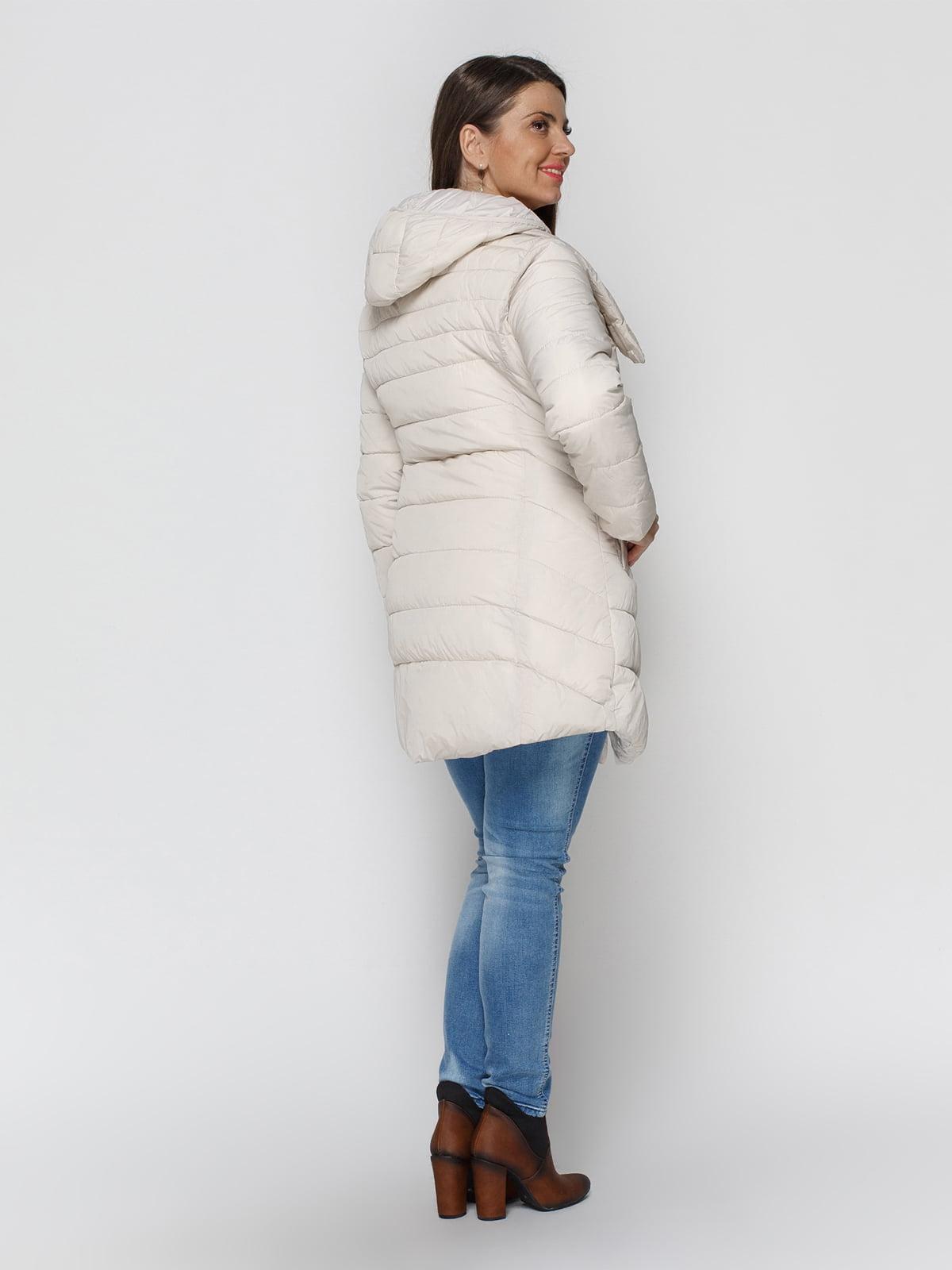 Куртка бежевая | 4840125 | фото 3