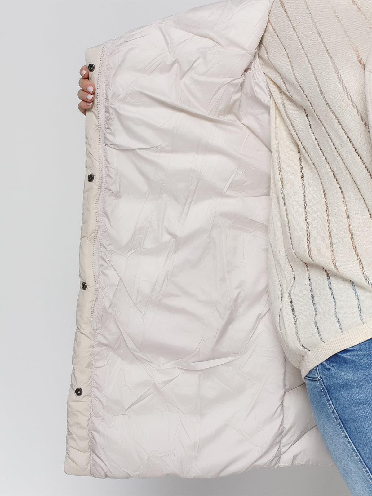 Куртка бежевая | 4840125 | фото 4