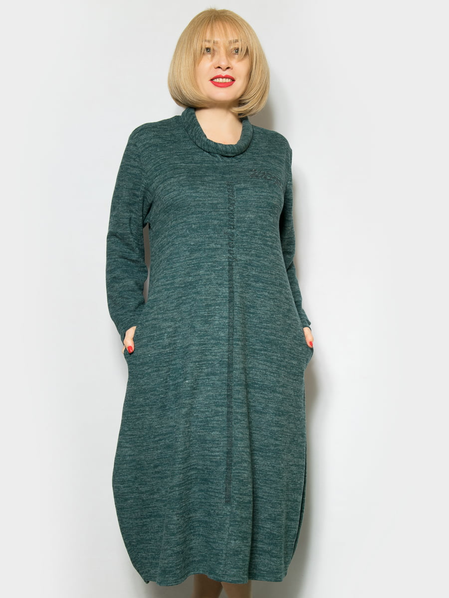 Платье зеленое | 4842316