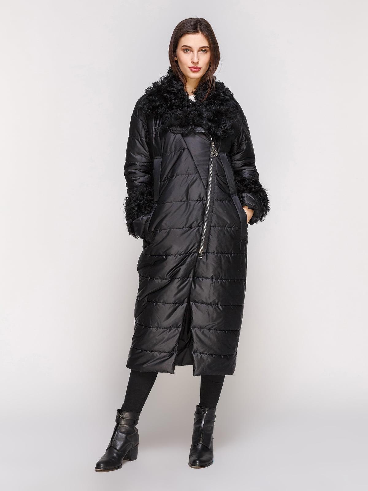 Пальто черное | 4836807 | фото 2