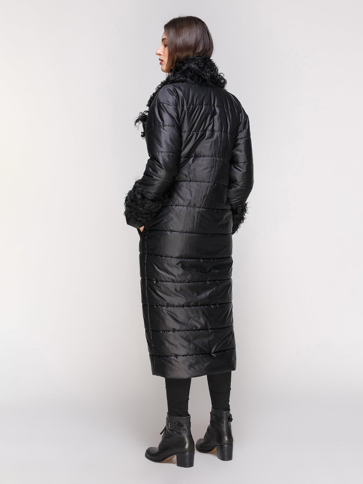 Пальто черное | 4836807 | фото 3