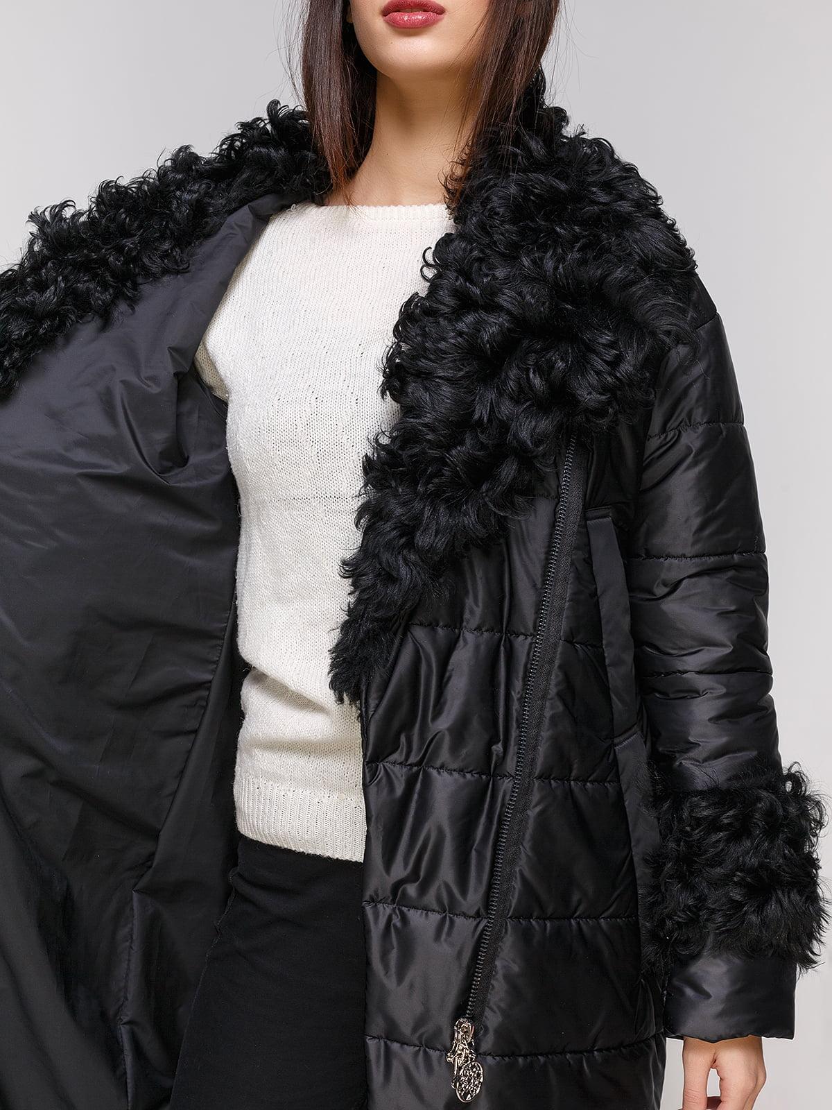 Пальто черное | 4836807 | фото 4