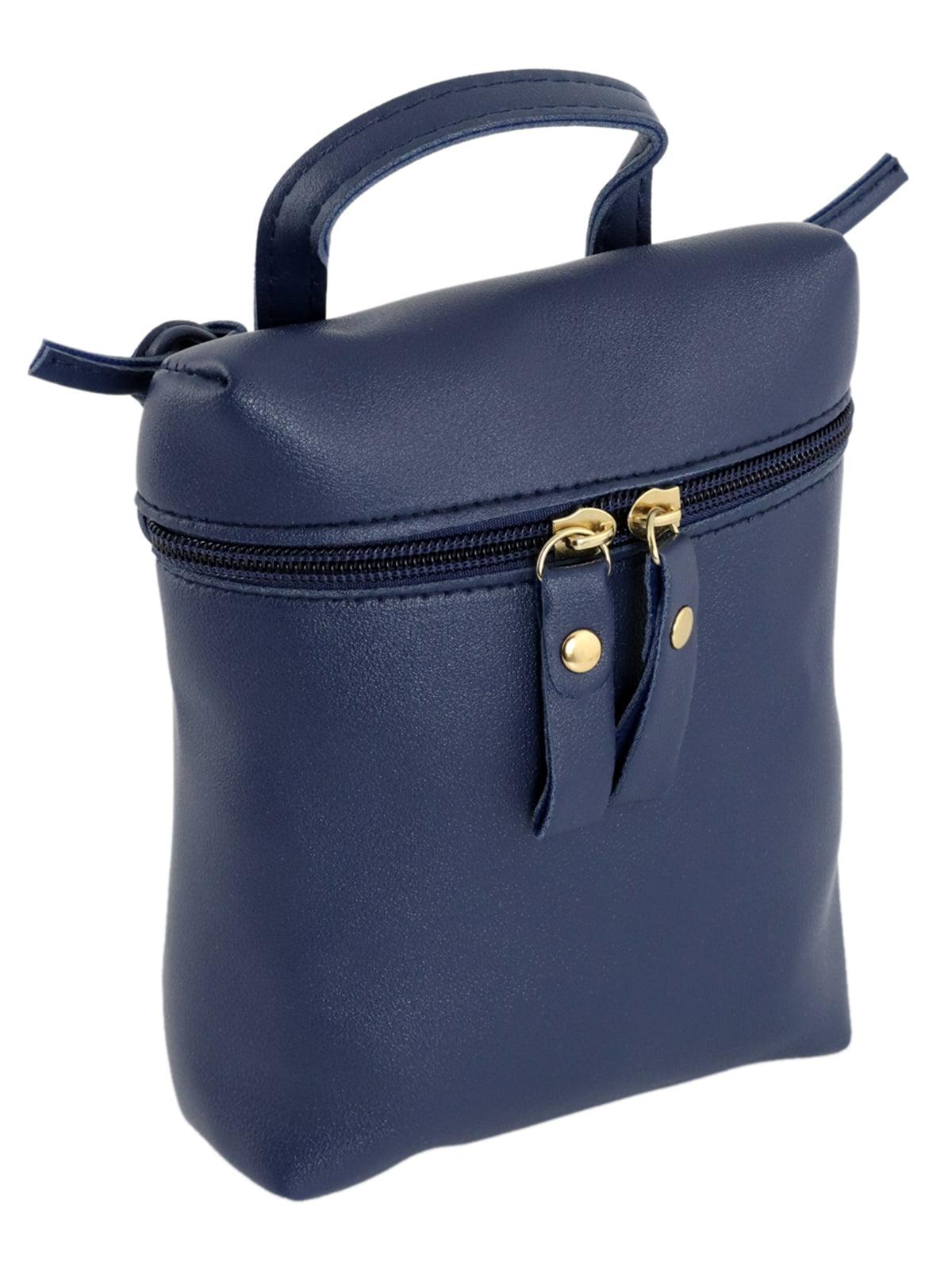 Мини-сумка синяя   4856230