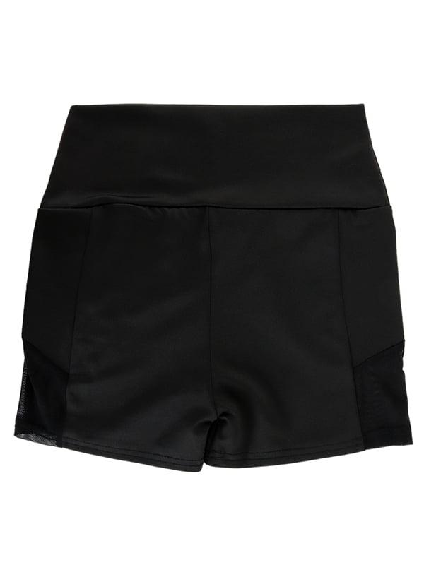 Шорты-корсет черного цвета | 4857081 | фото 4
