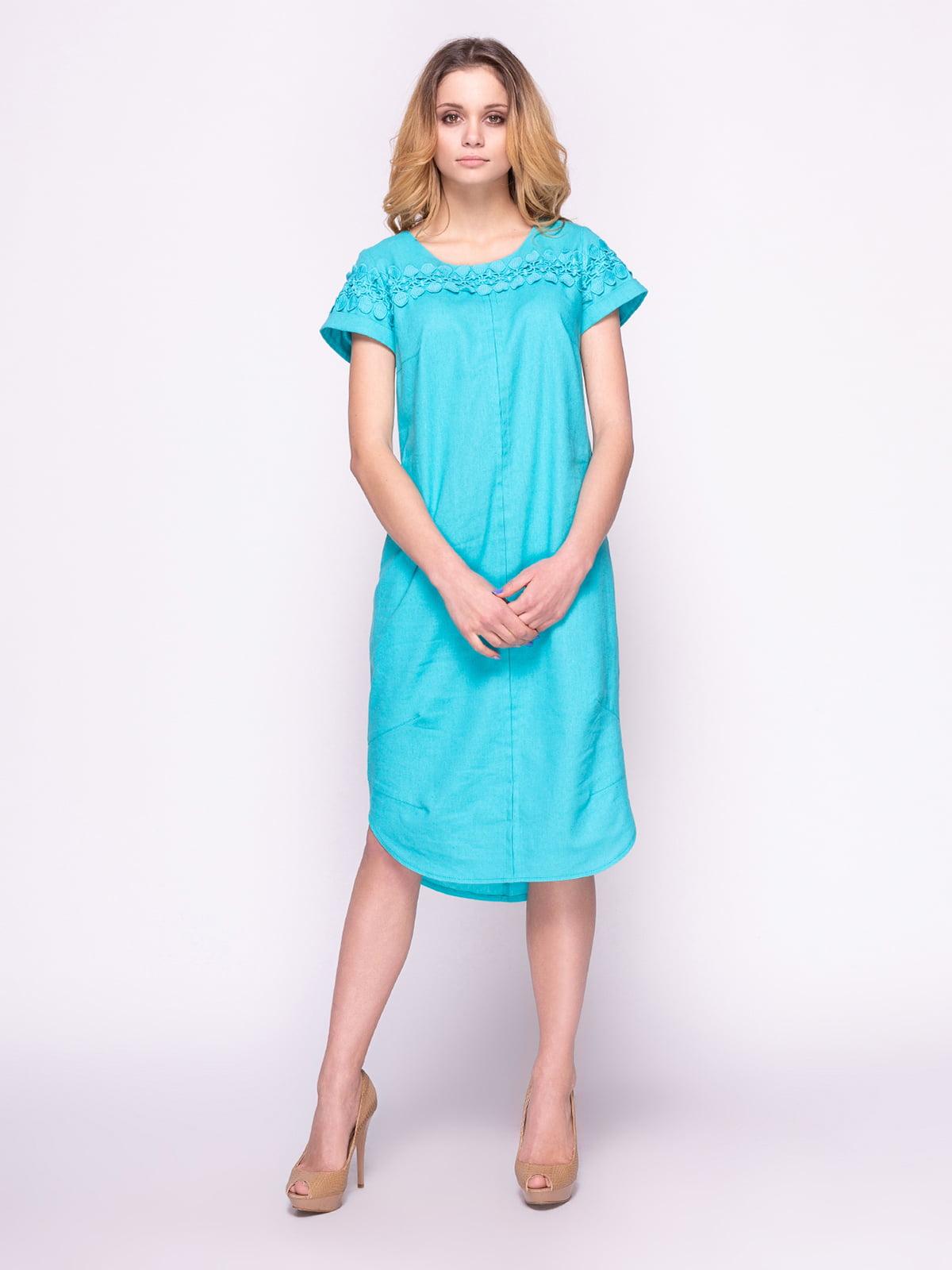 Сукня бірюзова | 4855819