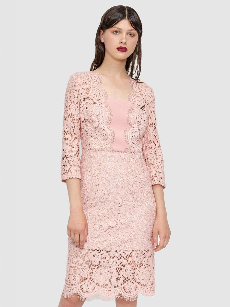 Платье розовое   4768270