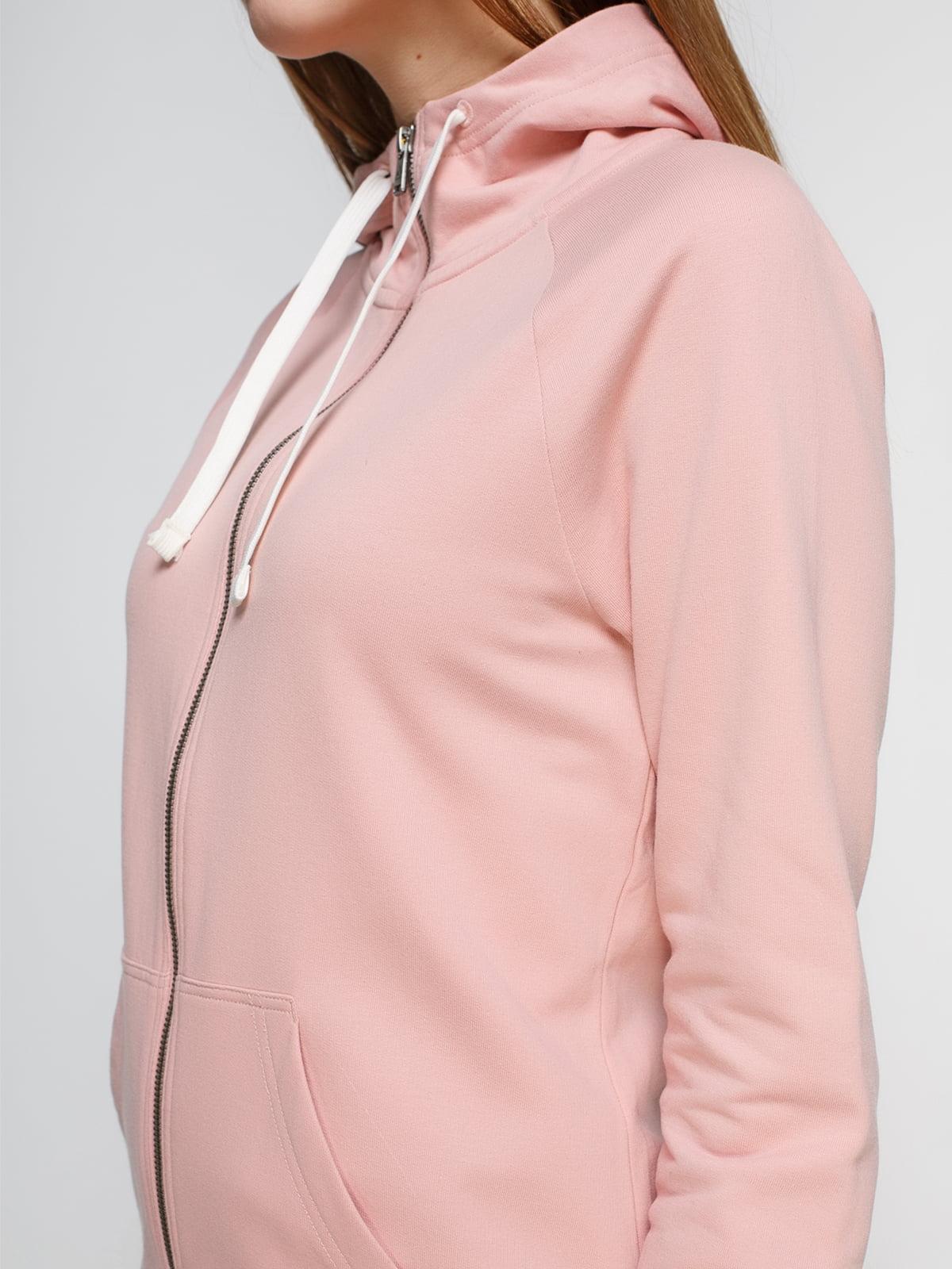 Толстовка розовая | 4221456 | фото 3