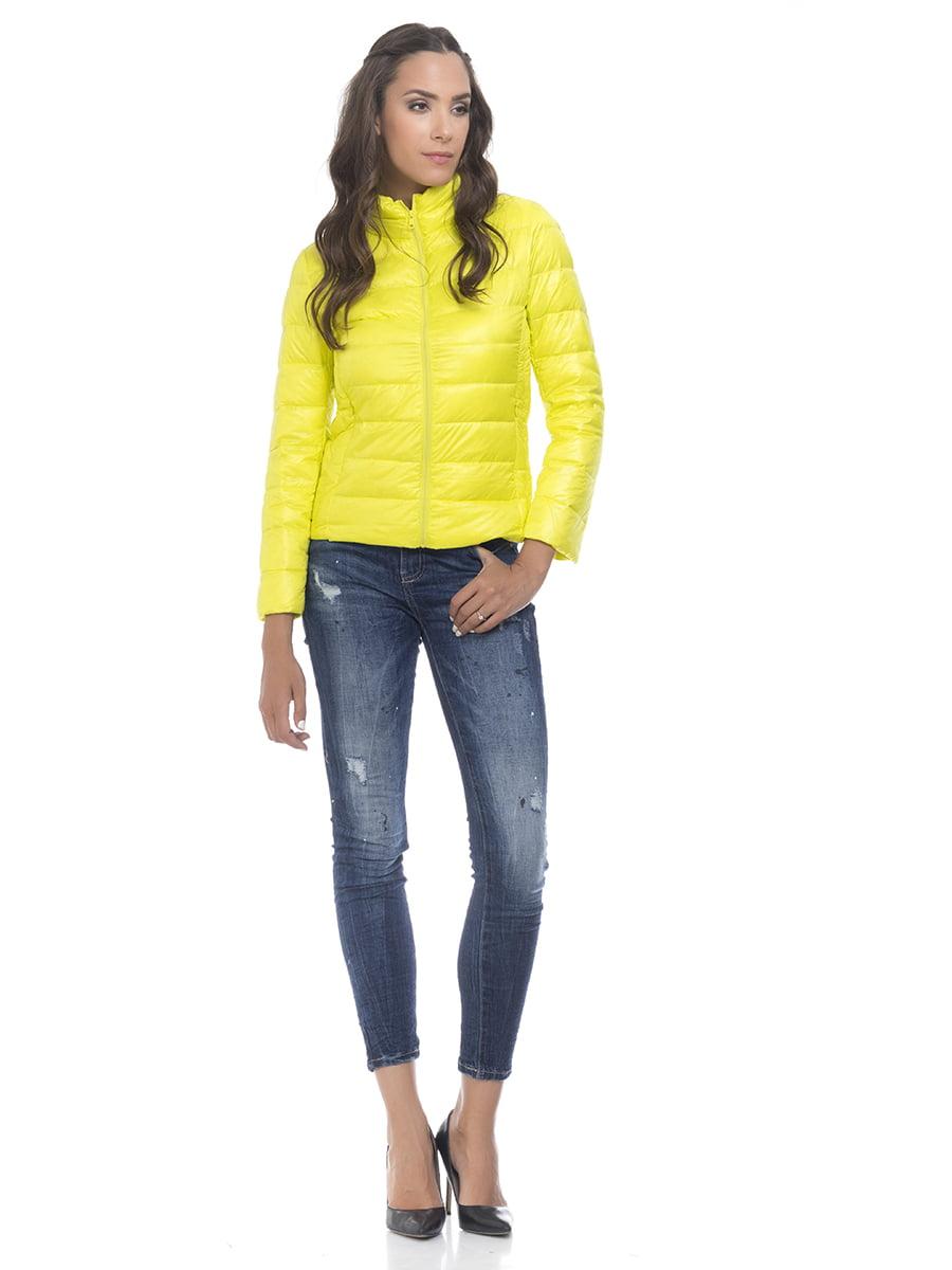 Куртка лимонного цвета   4525915   фото 6