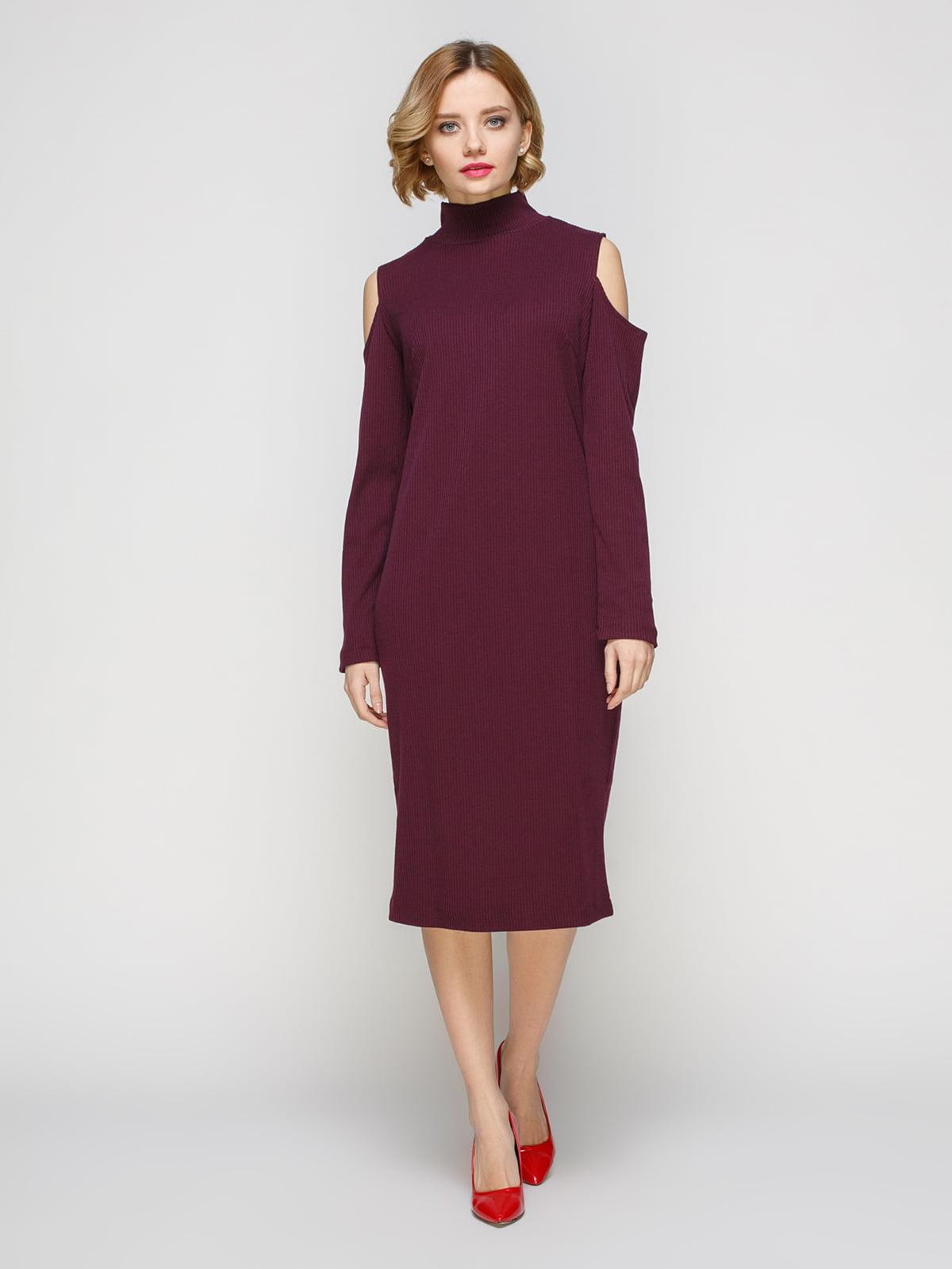 Сукня кольору марсала   3507149