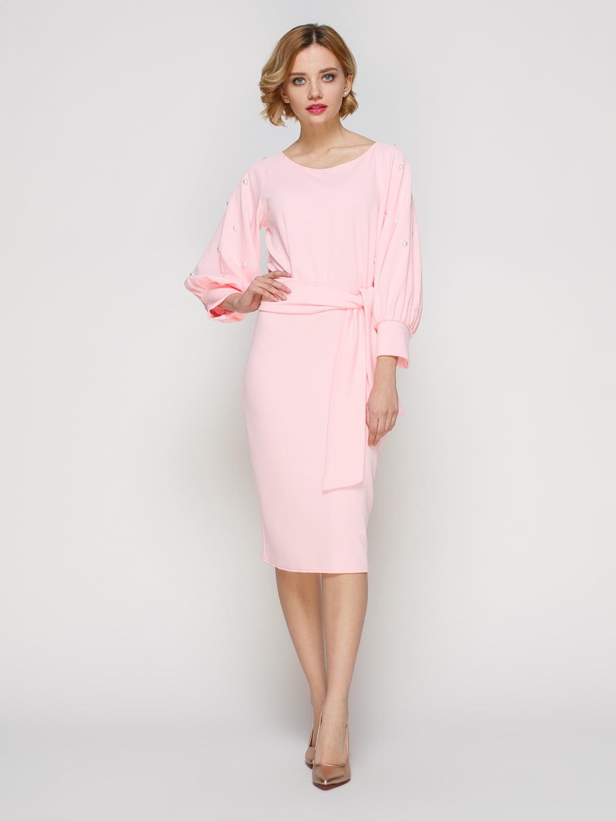 Платье розовое | 3182297