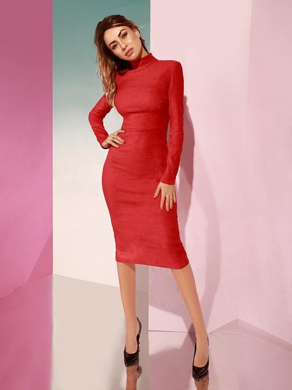 Платье красное   4860193