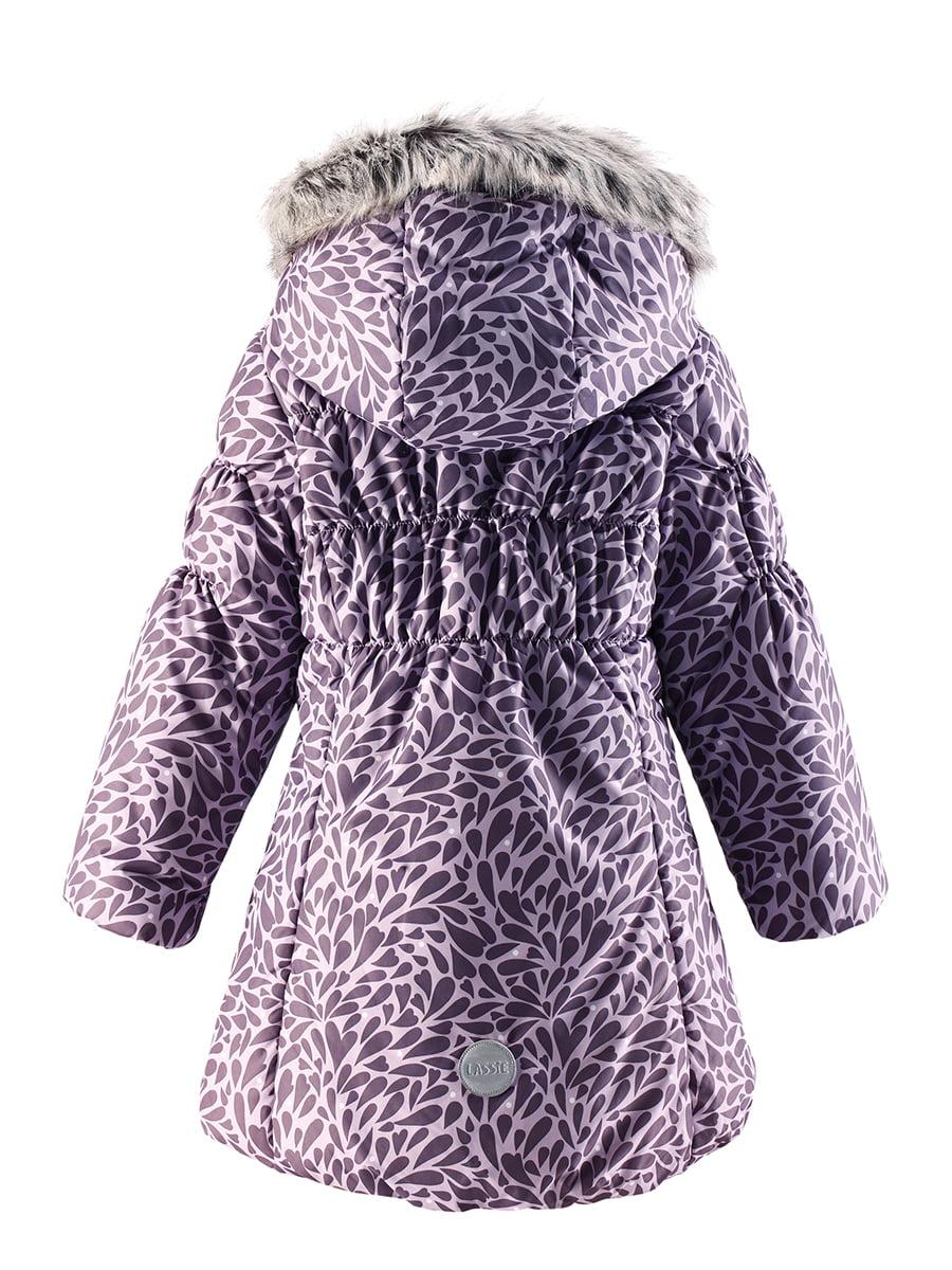 Куртка фіолетова в принт | 4856474 | фото 5