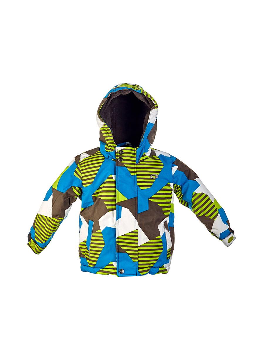 Комплект: куртка, напівкомбінезон, шапка, шарф і рукавиці | 4856630 | фото 4