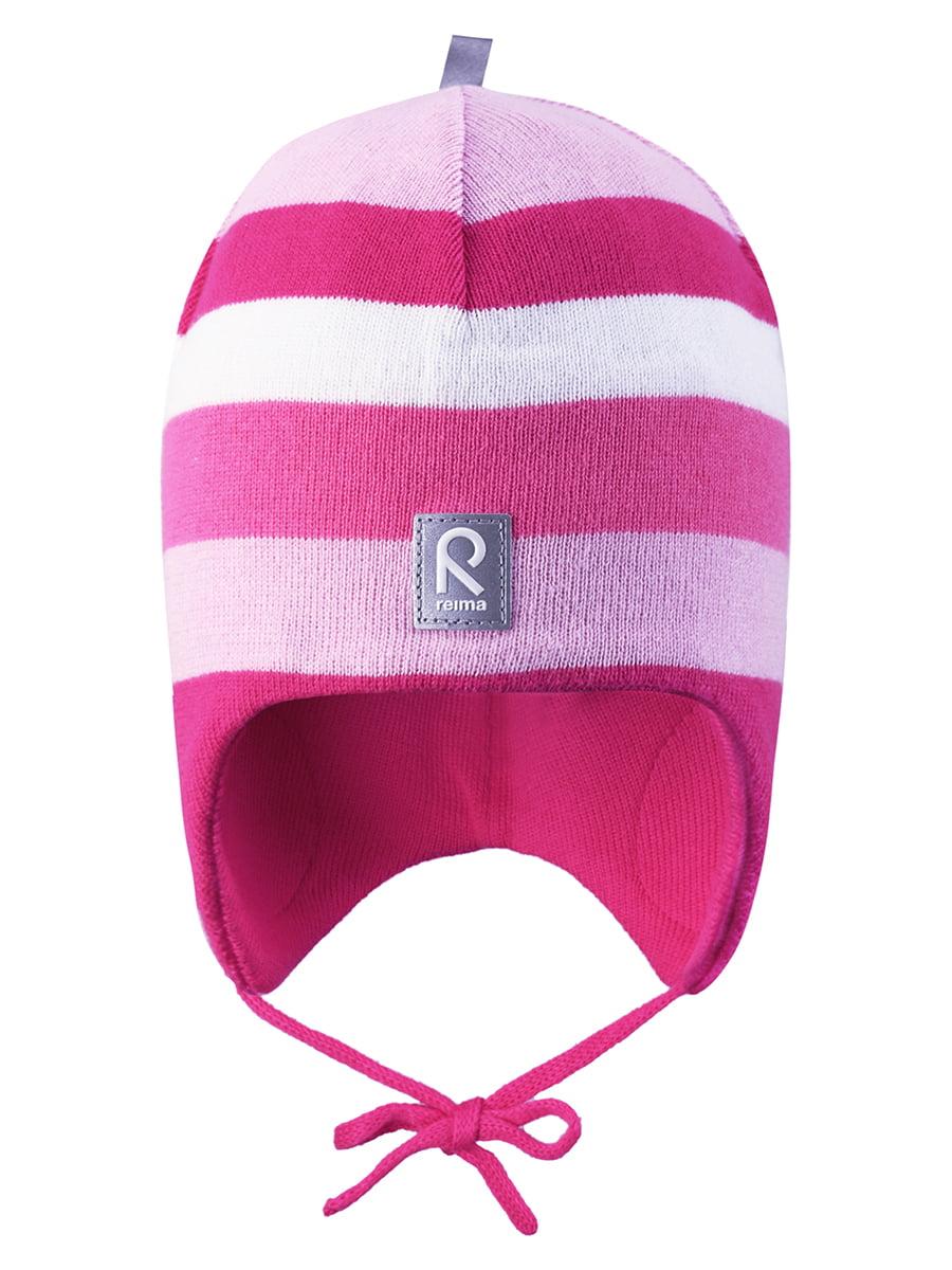 Шапка рожева в смужку | 4856640 | фото 5