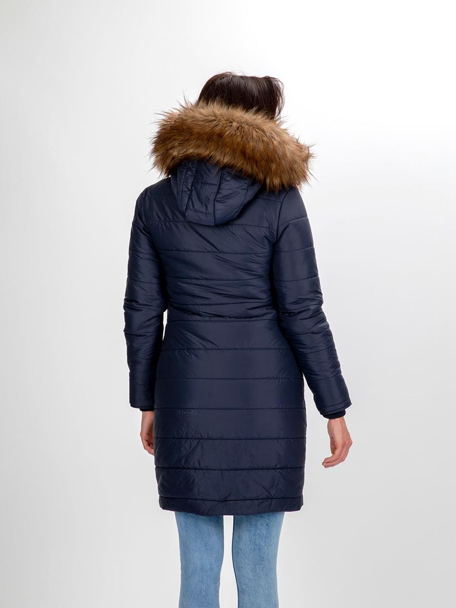 Пальто темно-синее | 3797411 | фото 11