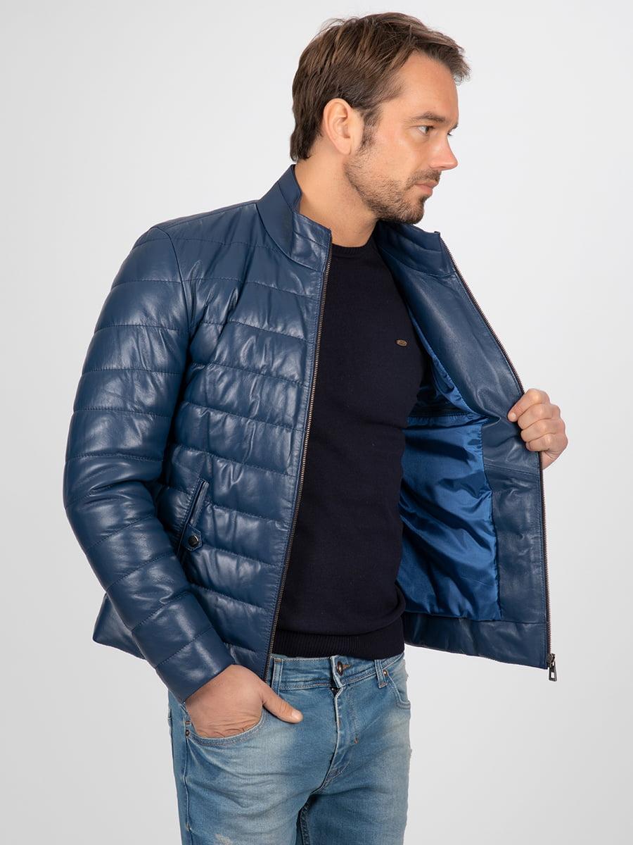 Куртка темно-синяя | 4313580 | фото 6