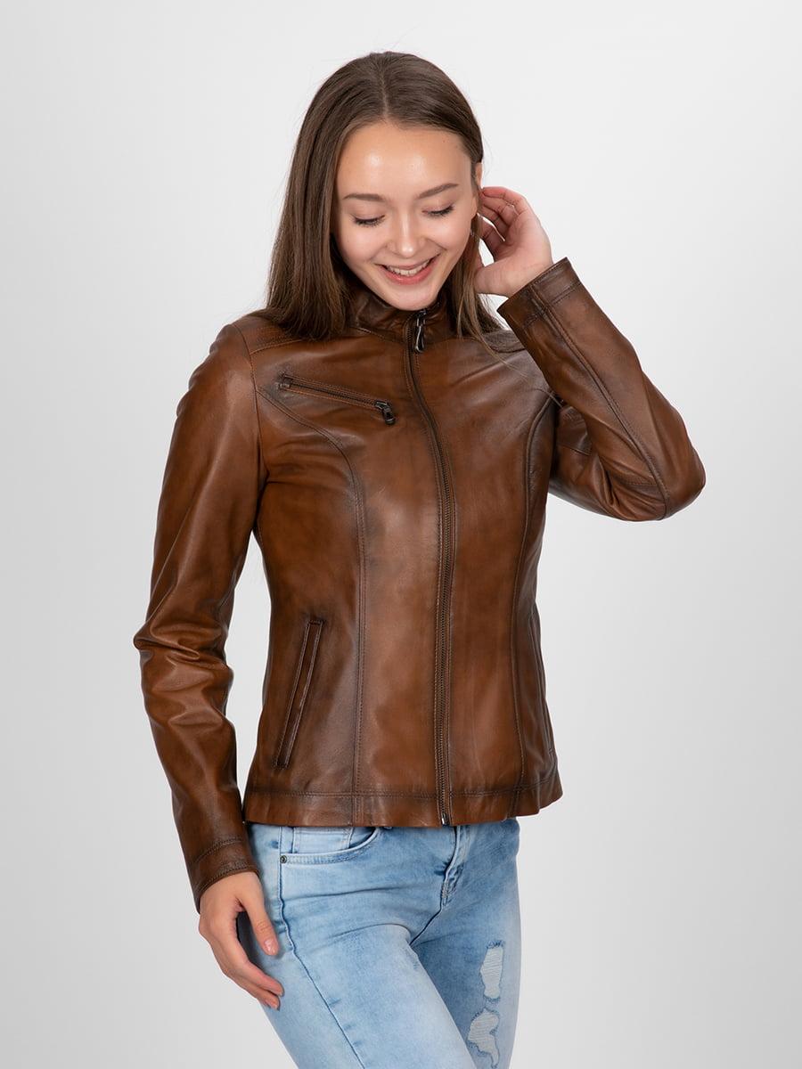 Куртка коричневая | 4313896 | фото 6