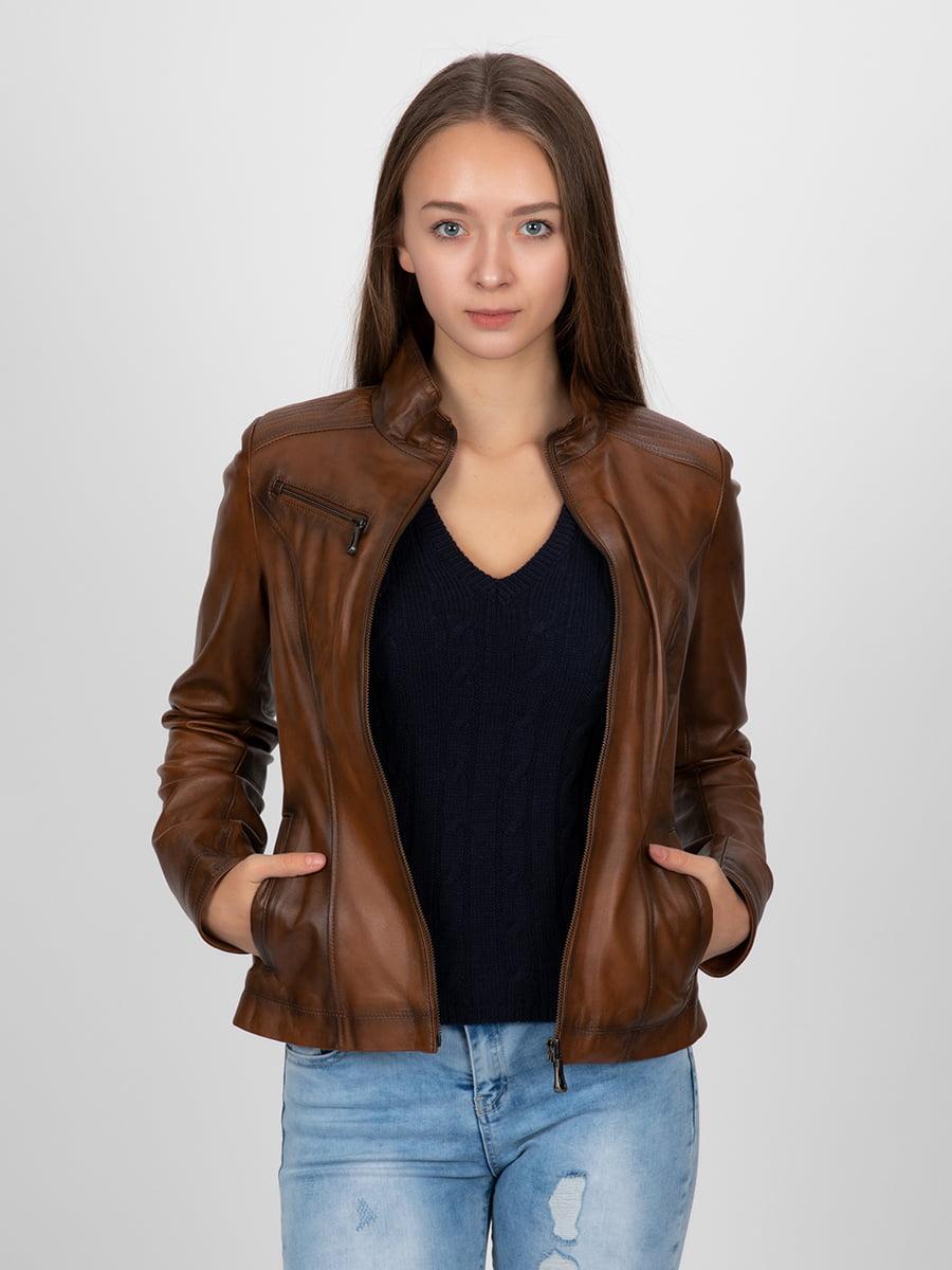 Куртка коричневая | 4313896 | фото 8